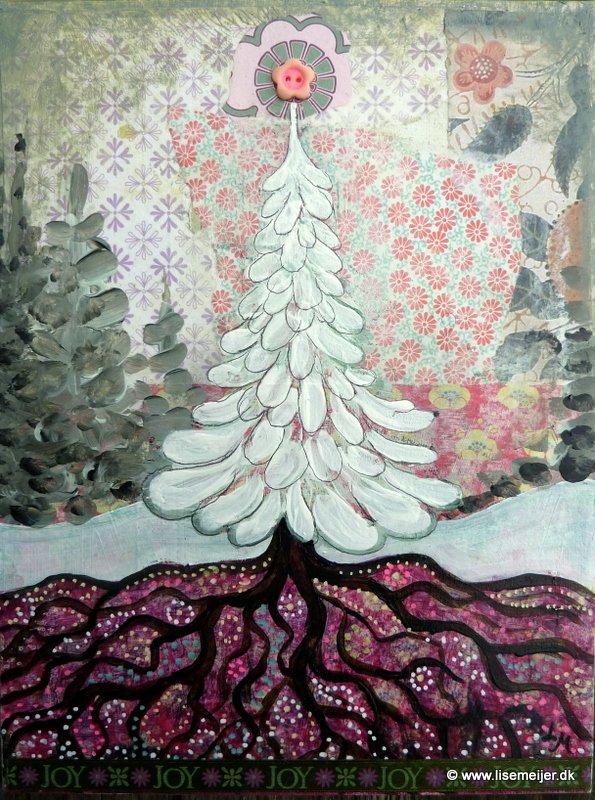 Joy under the tree