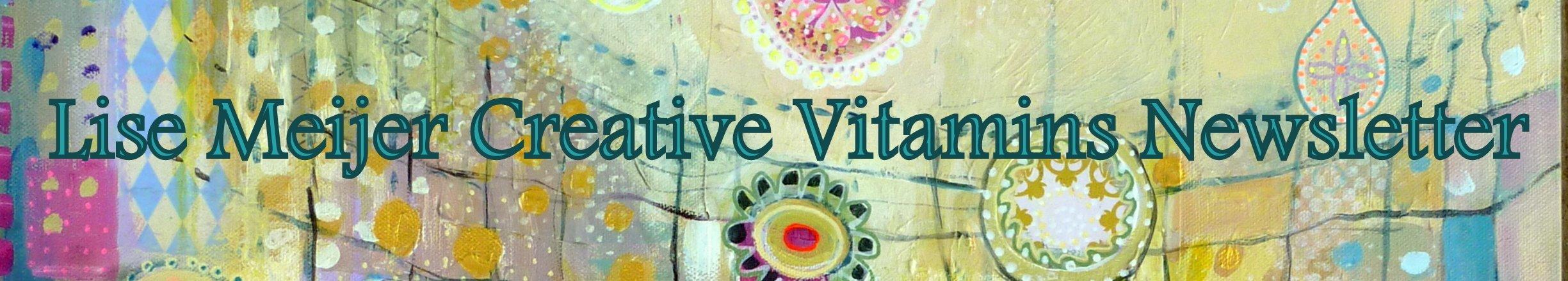 Creative Vitamins newsletter