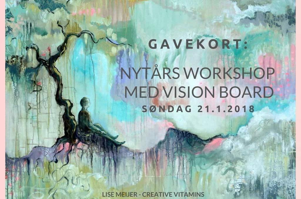 Gavekort til Nytårs workshop med Vision board