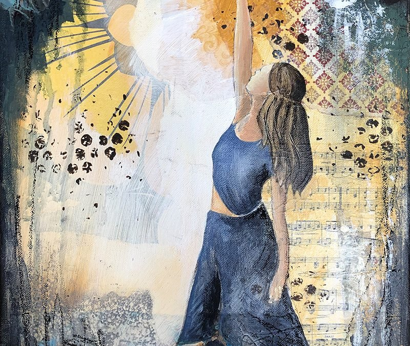 Dancing with Light – new painting