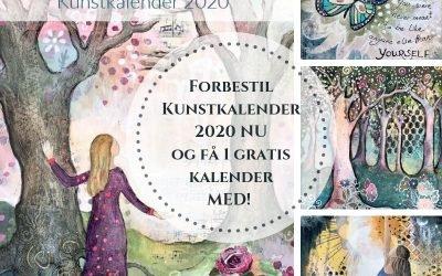 Kalender 2020 kan nu forbestilles! (Og der er bonus gaver i anledning af 7 års jubilæet!)